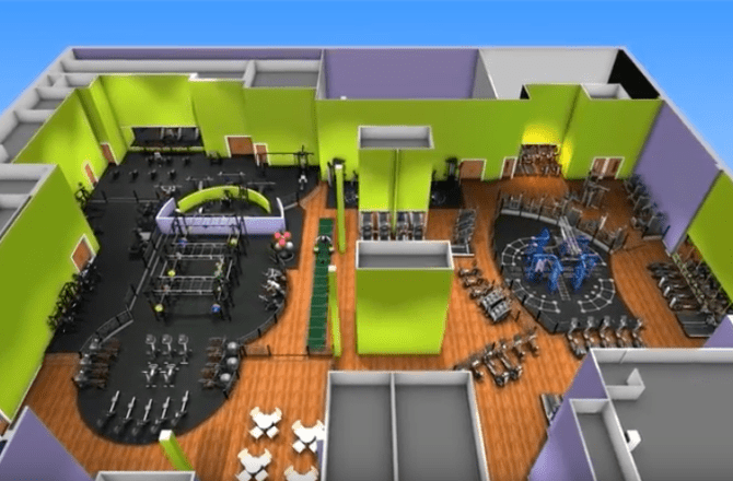 New Gym Set for Cardiff Bay's Red Dragon Centre