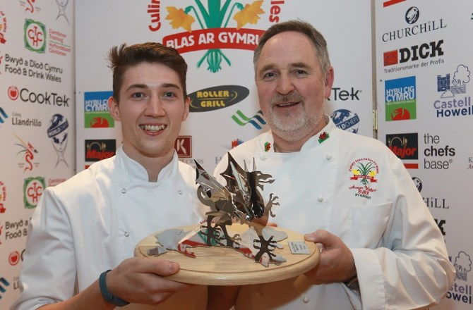 Sion Takes 2019 Junior Chef of Wales Title