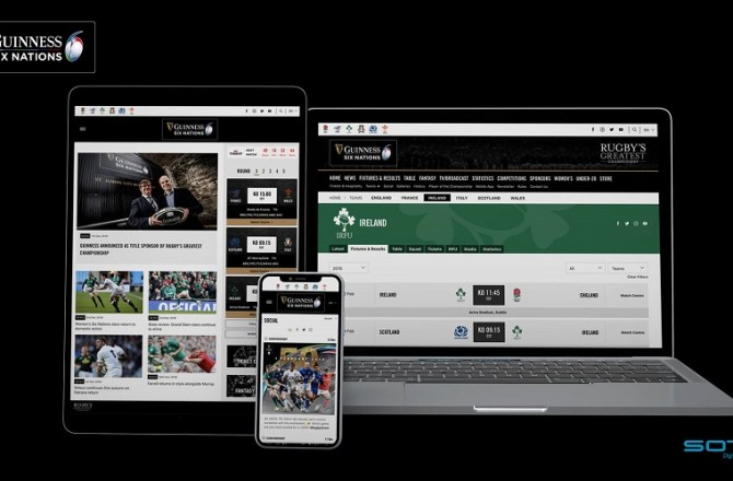 Cardiff Agency Launches New Website for Six Nations Championship 2019