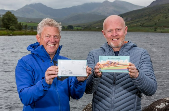 Chocolate-Loving, Thrill-Seeking Duo on a Mission to 'Post' Snowdon Across the World