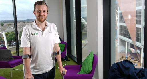 Welsh Entrepreneur Provides Fix for Injured Athletes