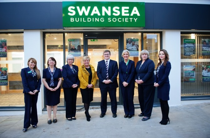 Swansea Building Society Relocates its Swansea City Centre Branch