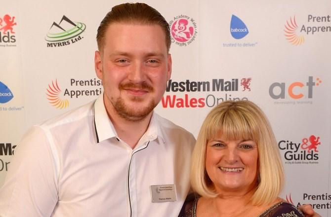 Award Winning Apprentice Chef Celebrates Recipe for Success