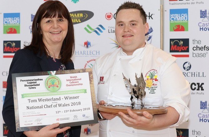 Third Time Lucky as Tom Wins the National Chef of Wales Title