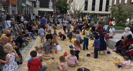 Urban Beach Returns to Newport City Centre