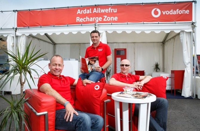 Substantial Investment by Vodafone in its Welsh Network