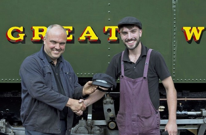 Vale of Rheidol Railway Appoints the UK's Youngest Steam Locomotive Driver