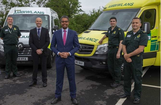 £10M for New Ambulances and Passenger Transport in Wales