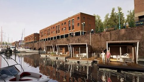 Four-Star Floating Hotel Suites Planned for Milford Marina