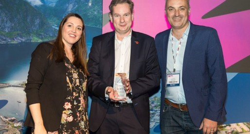 CEO of Cardiff Tech Company Receives World Travel Leader Award