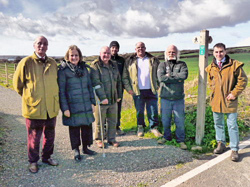 New Footpath Provides a Safer Way to West Angle Bay