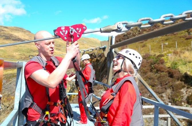 Zip World Creates More Than 100 Jobs in North Wales