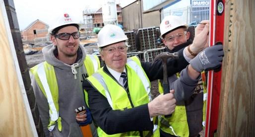 Apprentices Build Skills on Port Talbot VVP Construction Site