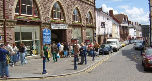 Abergavenny's Town Centre Enjoys Second Phase of Improvements
