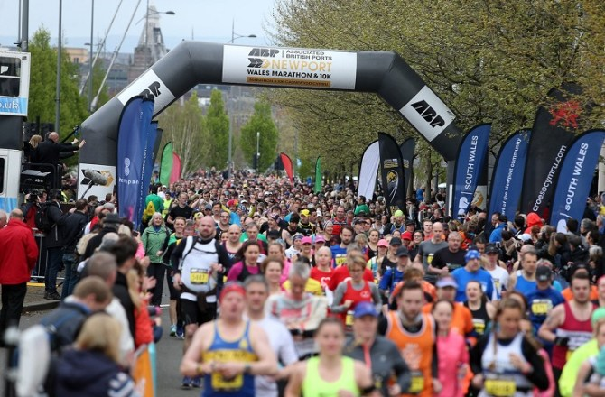 ABP Newport Wales Marathon to Hit TV Screens