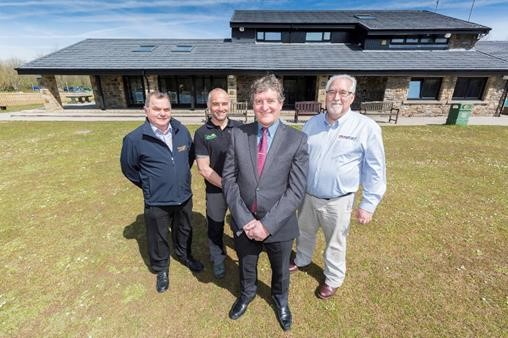 Metrotile Completes Renovation at South Wales Lakeside Visitor Centre