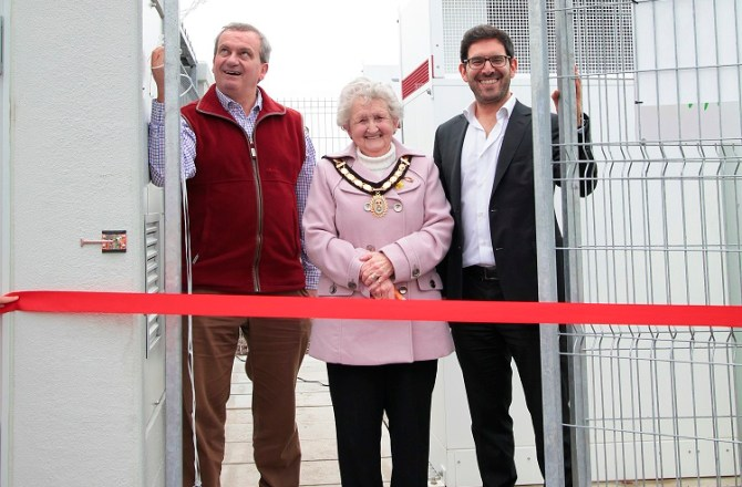 Kiwi Power and Cenin Renewables Launch Ground-Breaking Battery in Wales