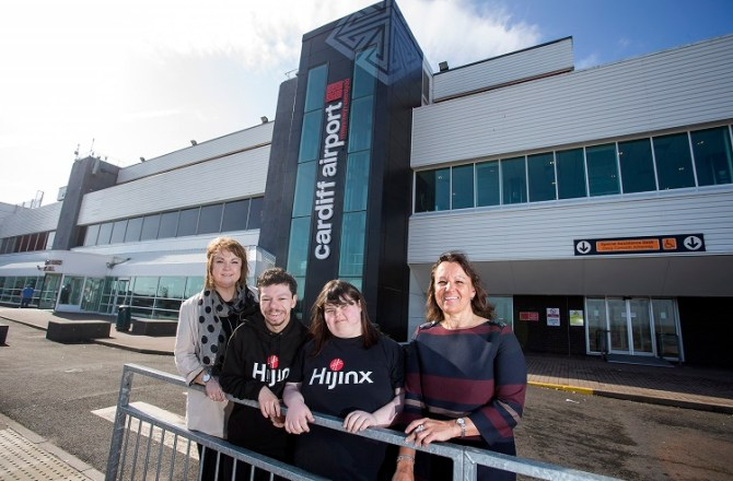 Arts & Business Cymru's CultureStep Programme Embraced by Cardiff Airport