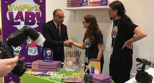 Theo Paphitis Sends Local Business Letterbox Lab to Prestigious Trade Fair
