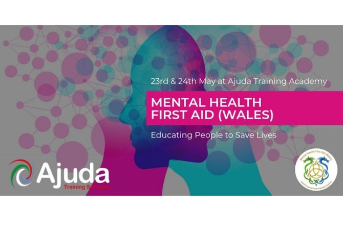 <strong> 23rd &#038; 24th May – Cardiff </strong><br> Mental Health First Aid