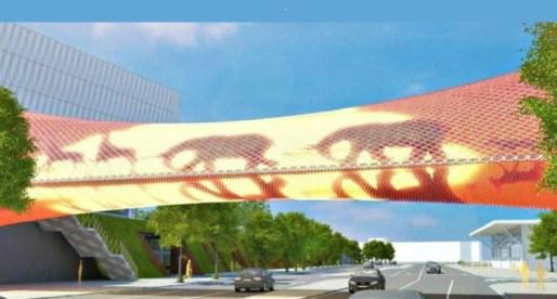 Futuristic Digital Bridge Could Become a New Swansea Landmark