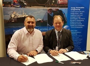 New Platform Strengthens Relationship Between Wave-tricity and Port of Milford Haven