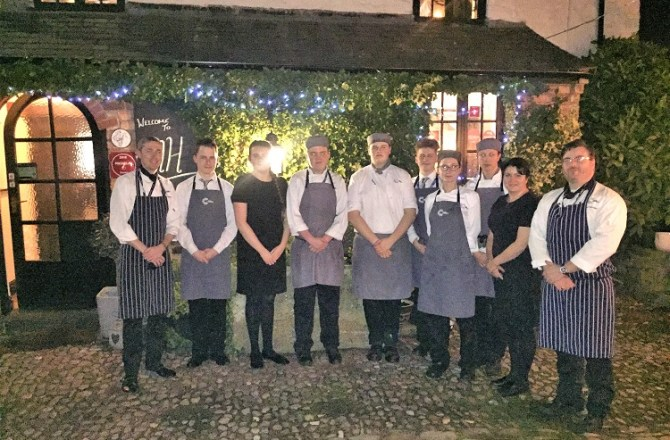 Students Take Over Award-Winning Welsh Restaurant Ahead of Collaboration Between Star Chefs