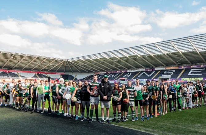 Swansea University Sports Teams and Players Outstanding Successes