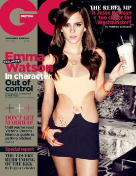 Emma Watson on GQ uk