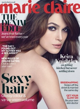 Keira Knightley for Marie Claire uk