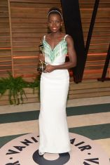 Lupita Nyong'o at Vanity Fair Oscar Party in Hollywood