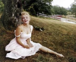 Marilyn Monroe by Sam Shaw, September 1957