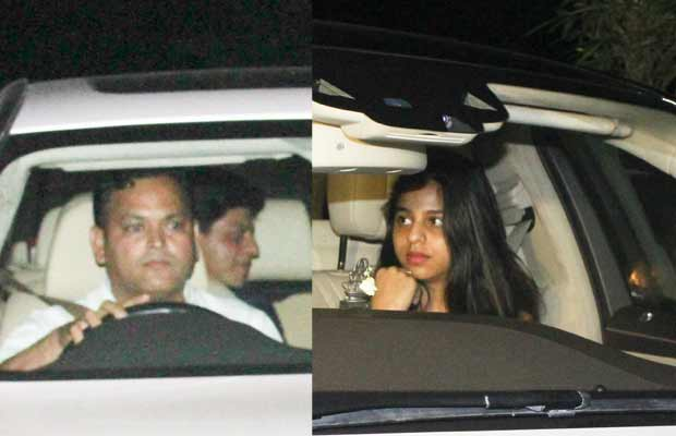 These Pictures Of Suhana With Dad Shah Rukh Khan At Film Studio Hints About Her Bollywood Debut?