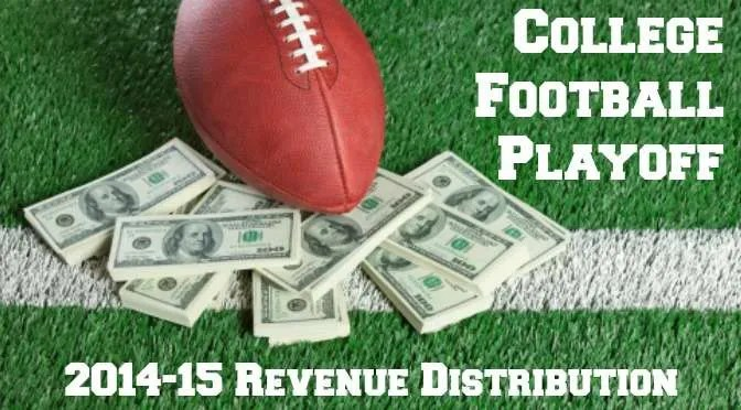2014-15 CFP Revenue Distribution