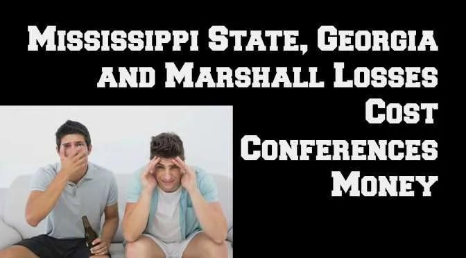 Losses Cost Conferences