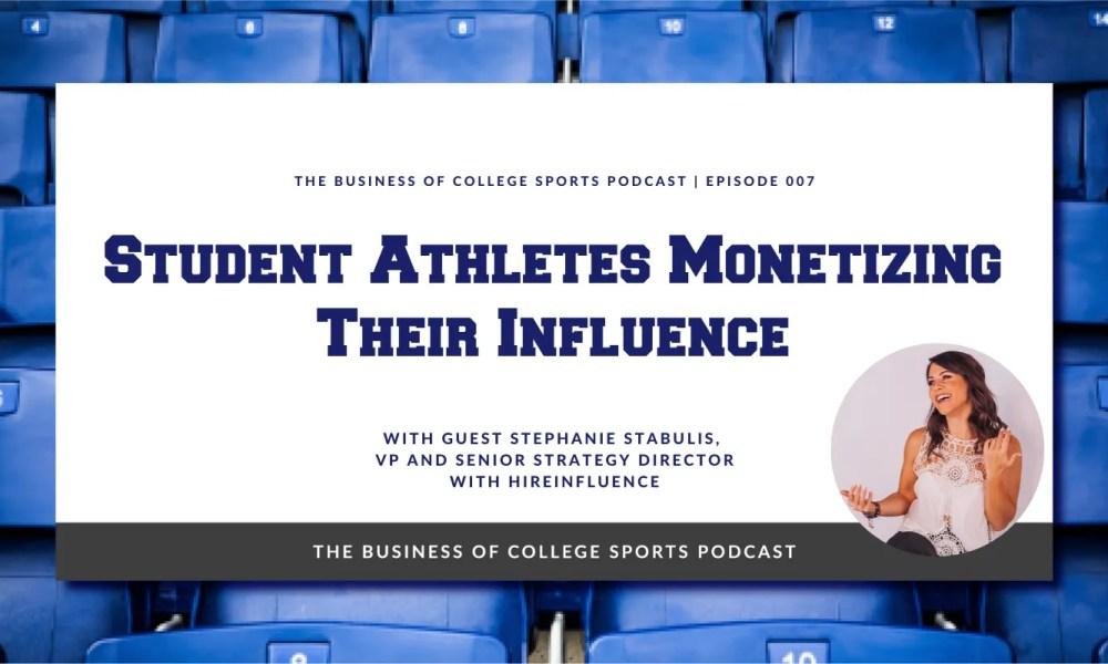 student athletes NIL influencer marketing