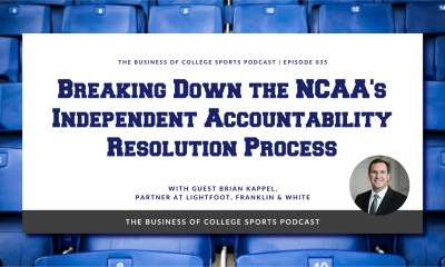 Brian Kappel on NCAA infractions
