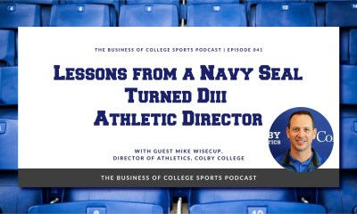 Mike Wisecup on the Business of College Sports podcast
