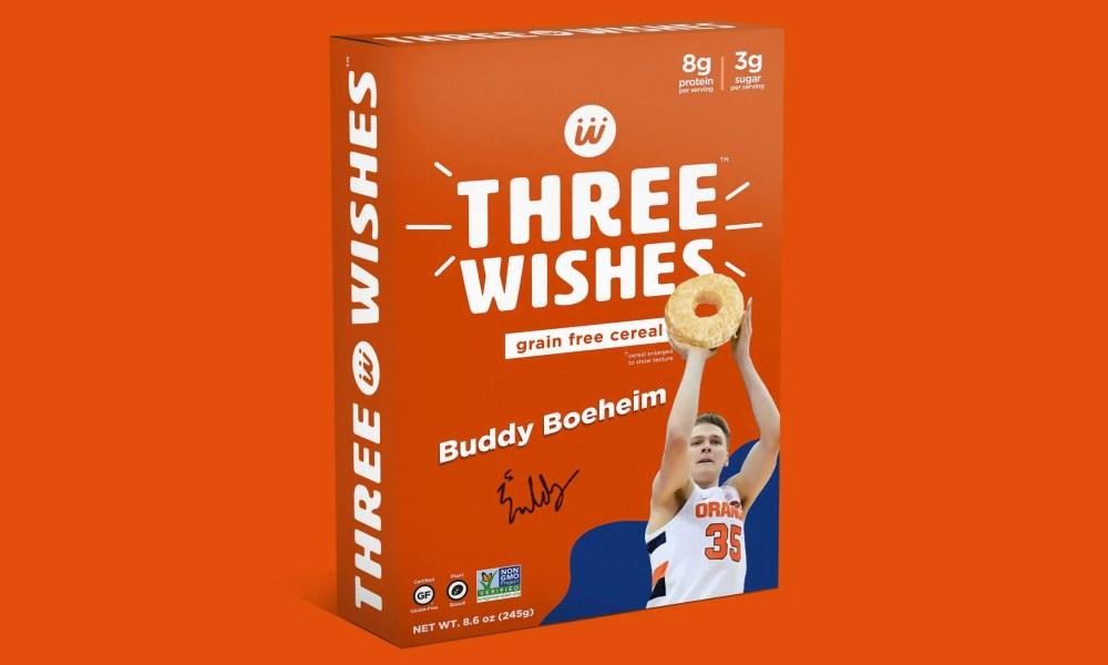 Buddy Boeheim cereal