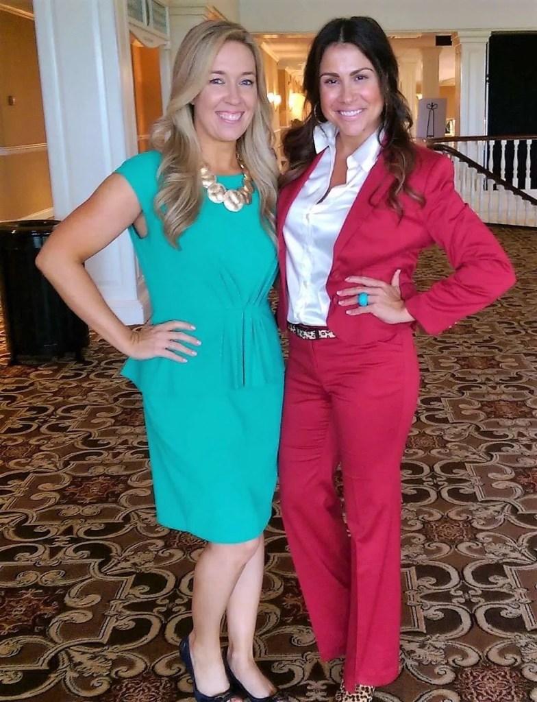 Kristi Dosh and Rachel Baribeau