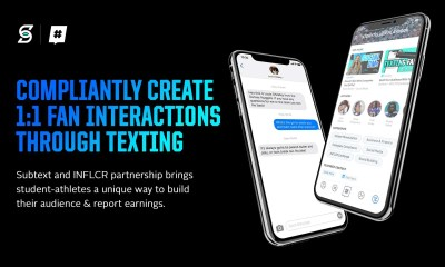 INFLCR and Subtext partner for student athlete NIL