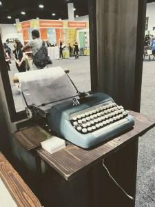 At the AWP Bookfair 2018