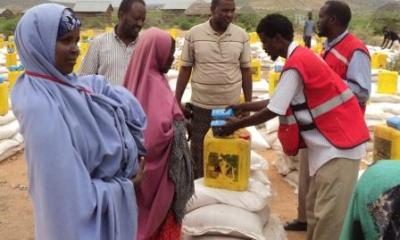 Red Cross Delivers Materials to 60,000 In Somalia