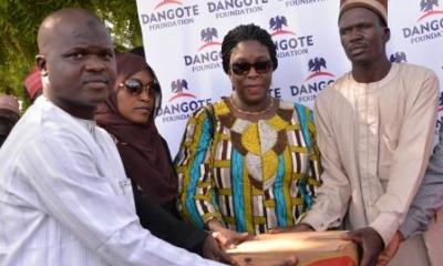 Dangote Donates N1.3b Items To IDPs