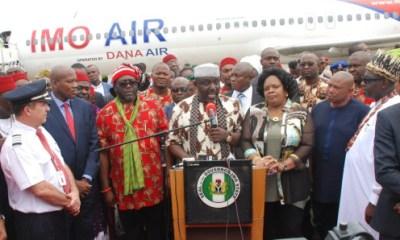 Okorocha Partners Dana Air to Launch Imo Air
