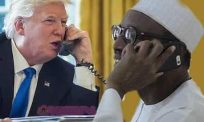 Trump Invites Buhari to Washington