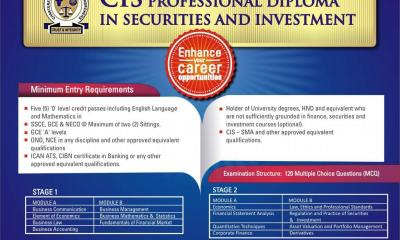 Chartered Institute of Stockbrokers CIS