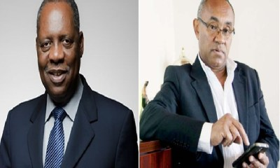 Hayatou Loses CAF Seat to Ahmad