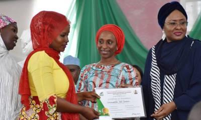 Aisha Buhari Solicits Start-up Funds for Women