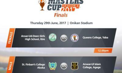 GTBank Masters Cup Season 6 Final Holds Thursday